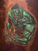 Hulk of self by Z-control