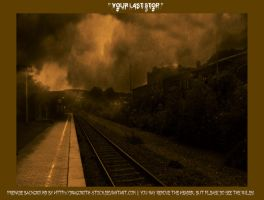 Your Last Stop - Premade BG by Dragoroth-stock