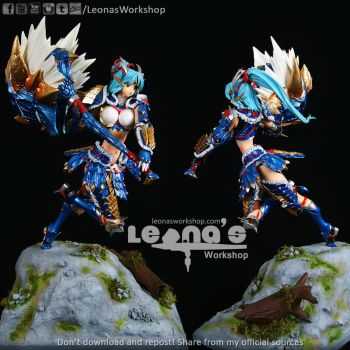 Zinogre Armor by LeonasWorkshop