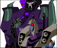 Blitzwing And Lugnut by Clindra