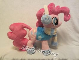 My little pony Pinkie Pie plush (commission) by Little-Broy-Peep