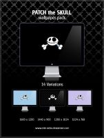 Patch the Skull wallpaper pack by NiTE-ANTiX
