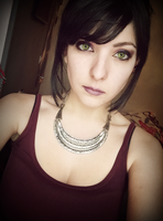 Morrigan from Dragon Age Make up + wig by Dragunova-Cosplay