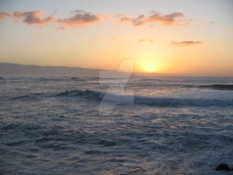 North Shore Sunset by Supovadea