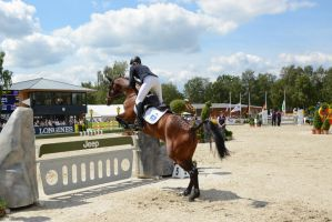 3DE Luhmuehlen Show Jumping Lift Off Series 09 by LuDa-Stock