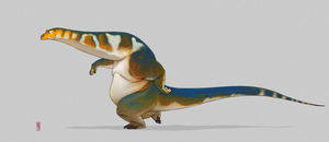 Apatosaurus by CamaraSketch