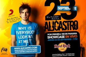 Flyer Alicastro Hard Rock by MyPink