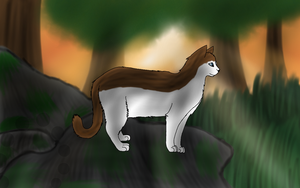 the new leader - art trade - mintwhisker by Optimistic-Chip