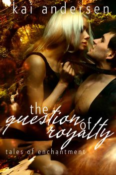 Book Cover - The Question of Royalty by BrynaHarper