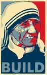 Mother Teresa by rolandtelema