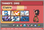 Claire's Sinnoh Team by eshonen
