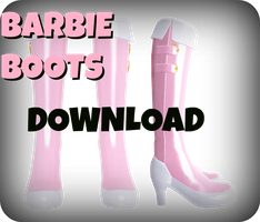 MMD RxNxD Barbie Boots DOWNLOAD by RinXNeruXD