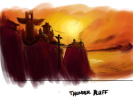 Thunder Bluff by CrimsonViper38