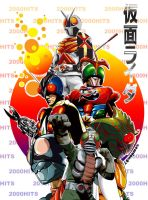 kamen rider 2000 hits by seanlon