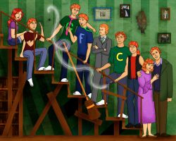 Weasley Family Portrait by Whisperwings