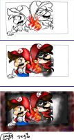 .:2 Sides of a Mario:. by IgotTheMagicHands