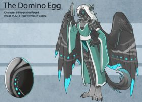 The Domino Egg by Ulario