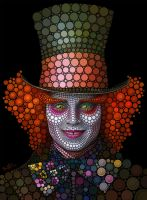 Mad Hatter - Johnny Depp by BenHeine