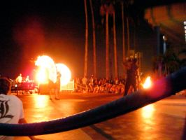 Metrocon 09: Fire Show by Rose-Vicious