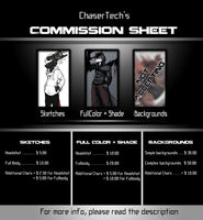 Commission Info Sheet by ChaserTech