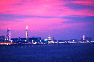 Ocean City NJ Skyline by truecolor101