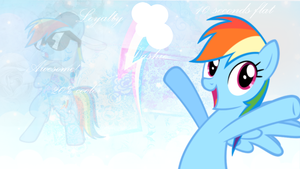 Dashie  Wallpaper by StarLullaby