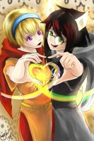 Seer of light and Witch of space - Homestuck by MelindaPhantomhive