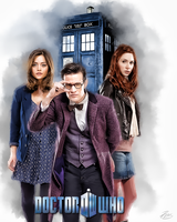 Dr Who 2 Companions Color by PZNS