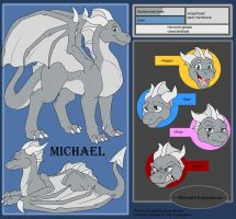 Commish - Michael Ref by shaloneSK