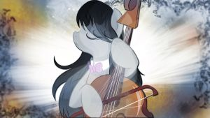 Wallpaper Octavia music mistress by Barrfind