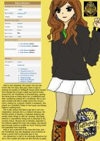 Harry Potter OC: Kiara Kimura by newspaperfan
