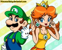 Luigi and Daisy - Are you ready? by Princesa-Daisy
