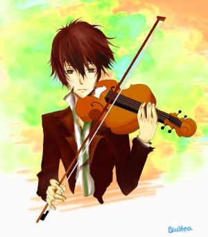 Violin by Blu3Tea