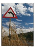 Road Sign by indians