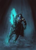 Darksiders 2 - WIP by AnnaP-Artwork