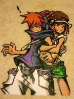 Neku and Shiki by Wacker00