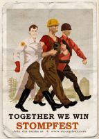 Together We Win Spray by SkyeBD