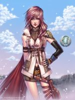 FFXIII. Lightning colors by sissy20021