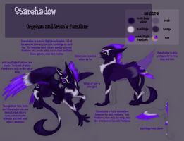 Character Sheet:  Starshadow by Aphrael7