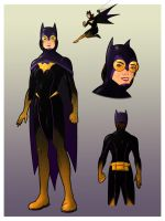 Batgirl Redesign by zclark