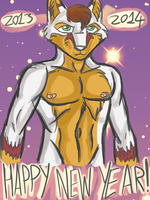 Happy New Year 2013/14 by ACdraw