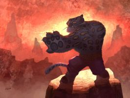 Tai Lung by weaselpa