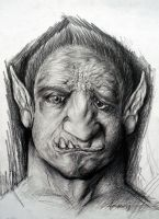 ogre by artistinres