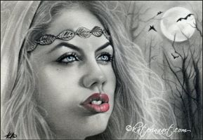 Shadows of the moon by Katerina-Art