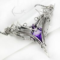 ASSANTURX Silver and Amethyst by LUNARIEEN