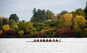 Rowing in Autumn by PaulMcKinnon