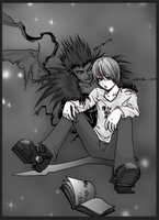 A Boy and his...Shinigami?? by teamsugoi1