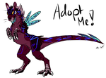 :Rat-Dinosaur Adopt 3:CLOSED: by Vinabe