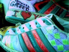 my vandalized shoes by earthly-delight