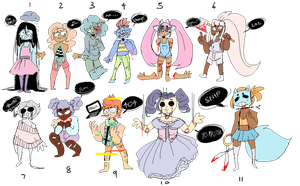 [OTA] Pastel Guro Adopts [8/11 OPEN] by DumbTurquoise